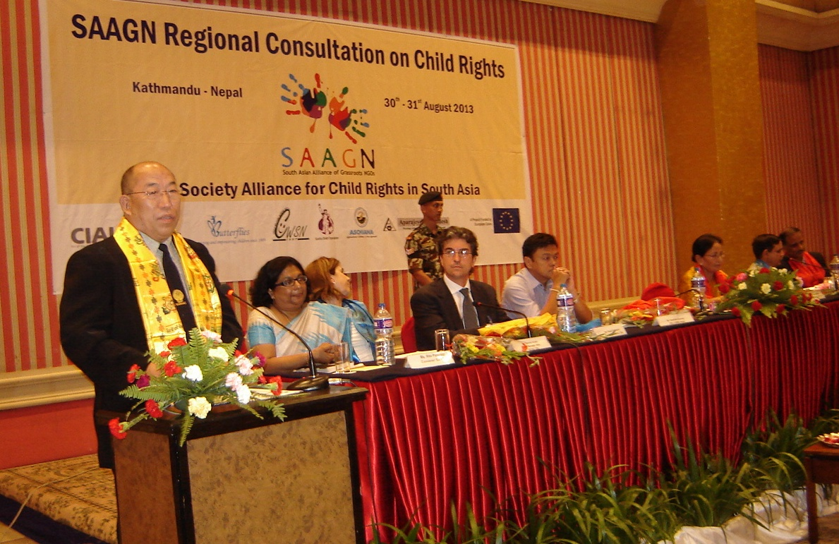 SAIEVAC Director General addresses SAAGN Consultation