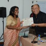 Certificates being awarded (2)