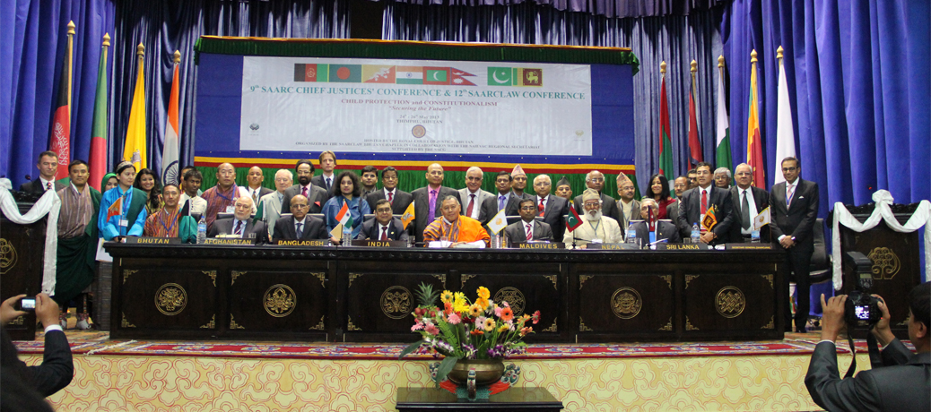 Conference Group Photograph of SAARCLAW Executive Council Members and SAIEVAC Delegation