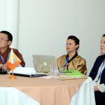 Bhutan delegates