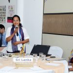 NACG Chair of Sri Lanka making a point